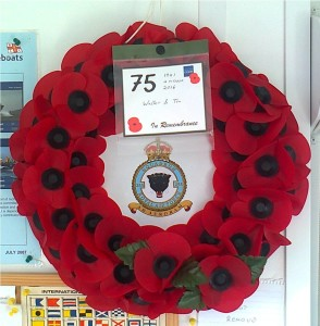 255 Sqn Poppy Wreath